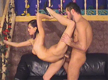 Flexible boytoy gets fucked