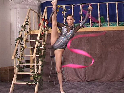 hot gymnast in total screwing