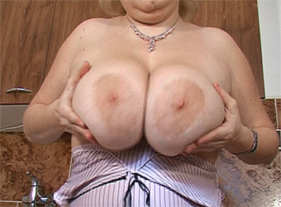 Massive jugs just spoilt you