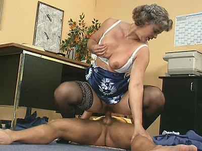 untimely lady boss fucks