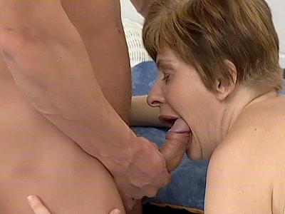Horny granny wild porn
