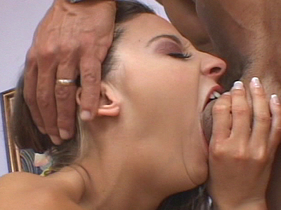Deepthroat with pornographic whore